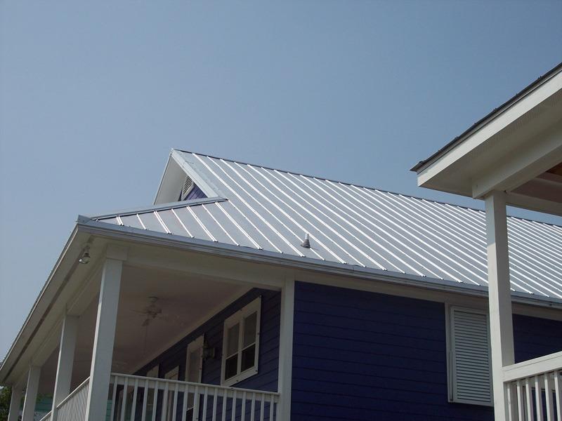 Atlantic Roofing Company 5 V Crimp Metal Roof