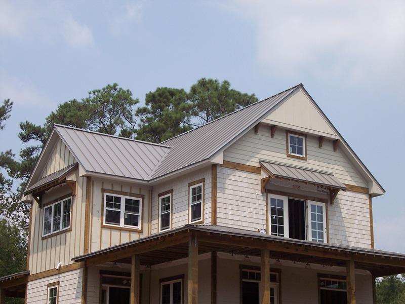 Standing Seam Metal Roofing 4