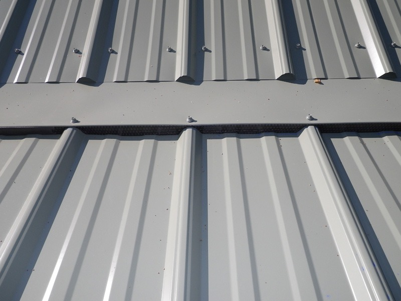 Multi-Rib Metal Roofing - Close-up