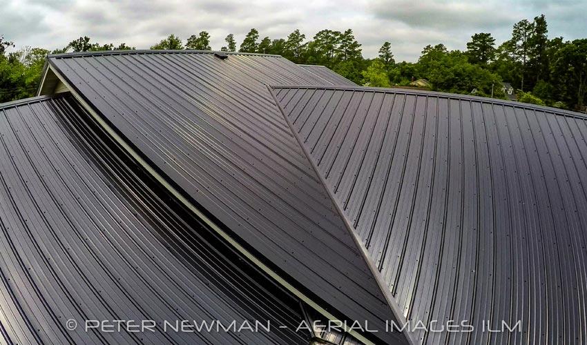 Atlantic Roofing Company Multirib Roofing Aerial