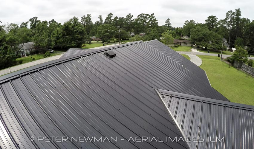 Atlantic Roofing Company Multirib Roofing Above