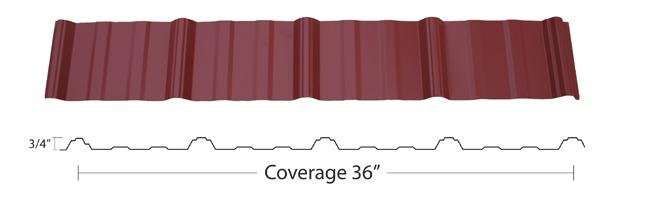 Multi-Rib Metal Roofing example