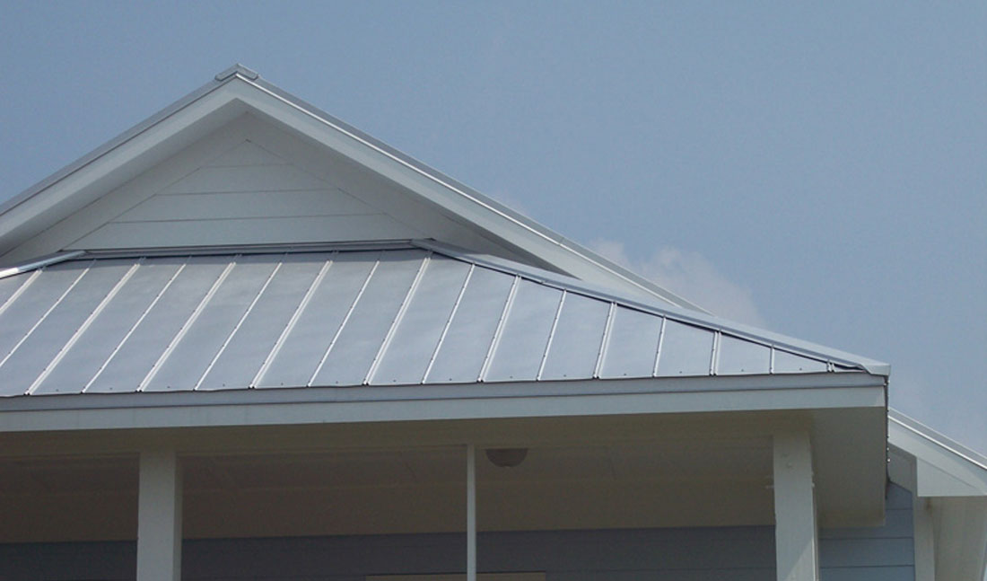 5V Metal Roofing Blue Close Wilmington, NC