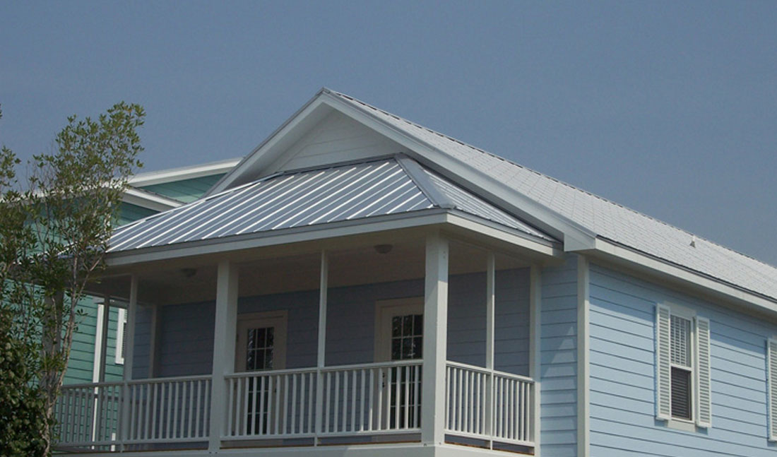 5V Metal Roofing Blue Wilmington, NC