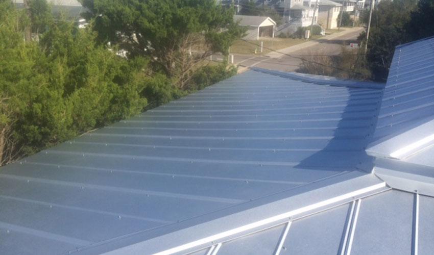 Atlantic Roofing 5V Metal Roofing Top Wilmington, NC