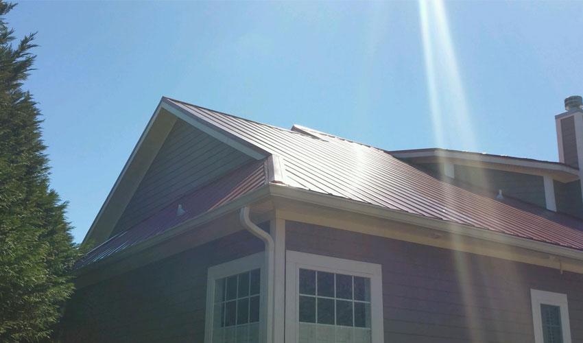 5V Metal Roofing Red Corner Wilmington, NC