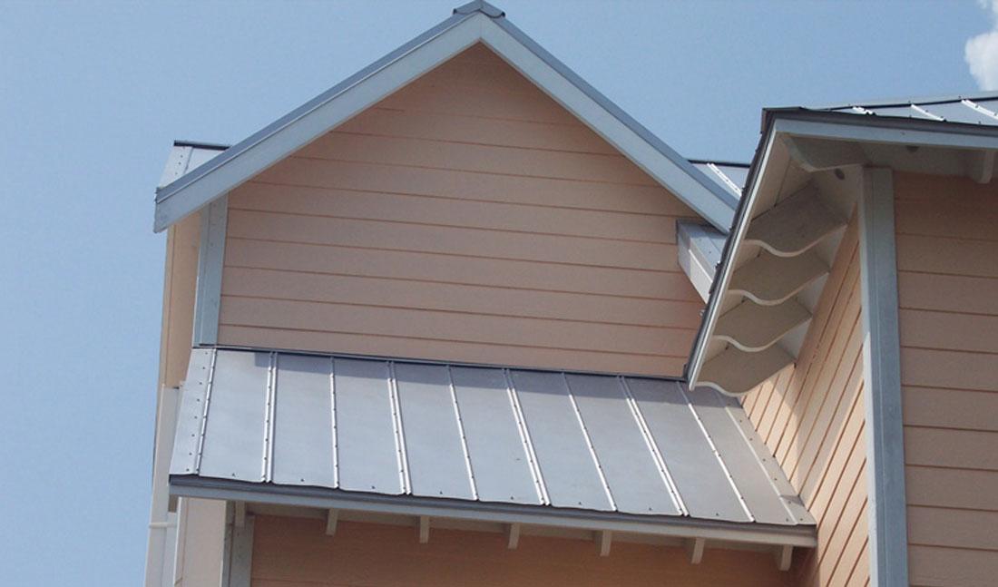 5V Crimp Metal Roof Peach Wilmington, NC