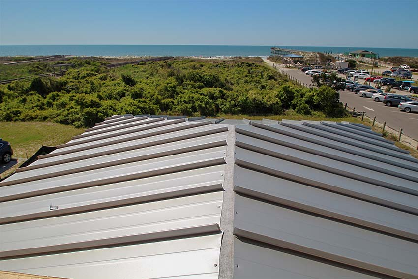 Metal Roof at King Fish Bay