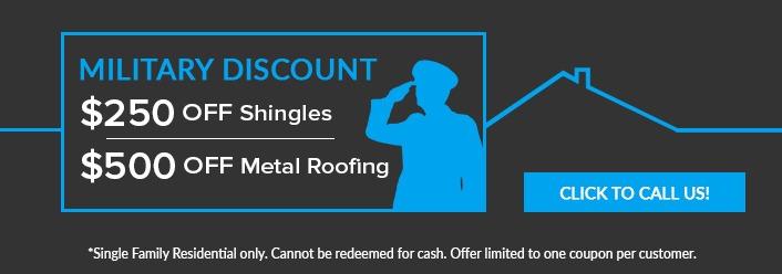 Military discount coupon