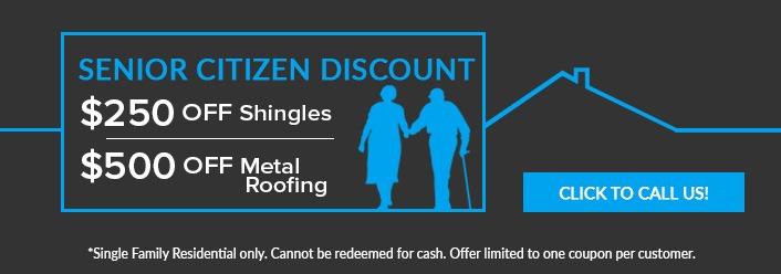 Senior citizen discount coupon